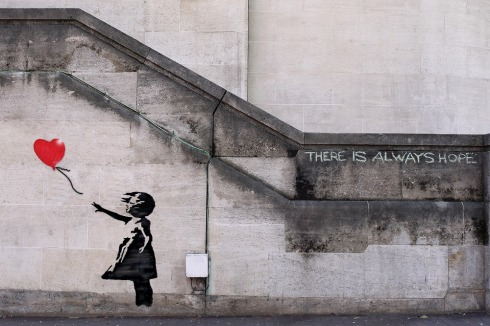 There-is-Always-font-b-Hope-b-font-Unframed-Banksy-Canvas-Prints-Wall-Art-Living-Room